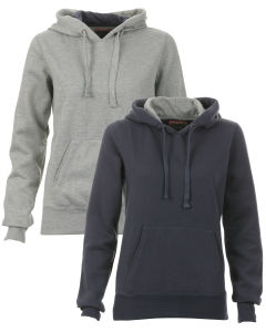 Brave Soul Women's 2-Pack of Hoodies - Grey/Navy