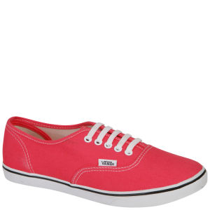 Vans Authentic Lo-Pro Canvas Trainer - Paradise Pink/True White