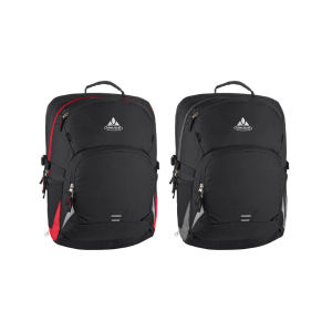 VAUDE Cycle 28 Backpack - Black/Red