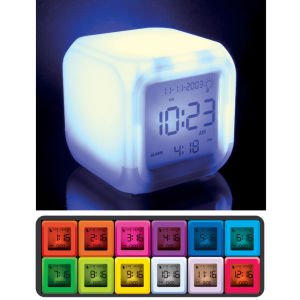 Aurora Mood Clock