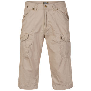 Osaka Men's Tiger Bedford Shorts - Beige