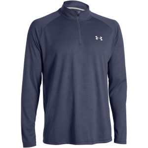 Under Armour Men's Tech 1/4 Zip Top - Midnight Navy/White