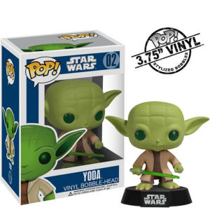 Star Wars - Yoda Figura Pop! Vinyl