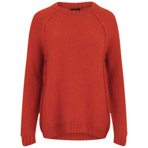 VILA Women's Virism Jumper - Red