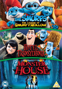 Hotel Transilvania / Monster House / Los Pitufos: El Piticuento de Sleepy Hollow