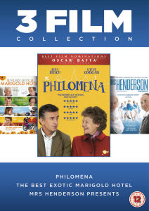 Philomena/The Best Exotic Marigold Hotel/Mrs Henderson Presents Box Set