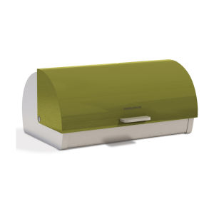 Morphy Richards Accents Roll Top Bread Bin - Green