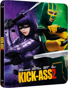 Kick-Ass 2 - Limited Edition Steelbook (Includes UltraViolet Copy)