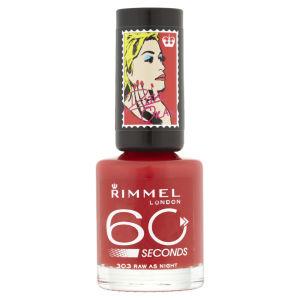 Rita Ora for Rimmel London 60 Seconds Nail Polish - Raw As Night