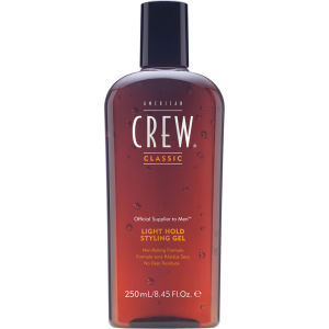 American Crew Light Hold Styling Gel (250 ml)