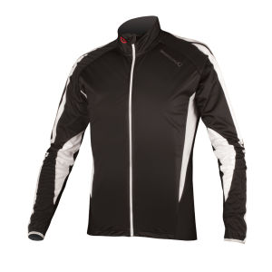 Endura FS260 Pro JetStream III LS FZ Cycling Jersey - Black/White