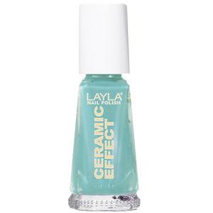 Layla Cosmetics Ceramic Effect Nail Polish N.24 Jade It All (10ml)