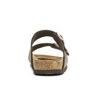 Birkenstock Women's Arizona Slim Fit Double Strap Sandals - Dark Brown: Image 3