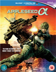Appleseed Alpha (Inclusief UltraViolet Copy)