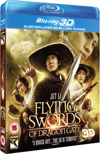 Flying Swords of Dragon Gate 3D (Includes 2D Blu-Ray)
