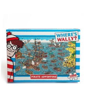 Where's Wally - Being a Pirate Jigsaw Puzzle (1000 Pieces)