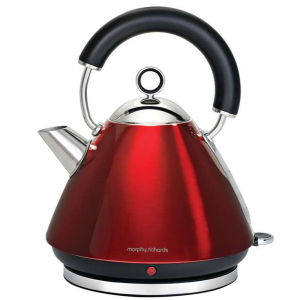 Morphy Richards Accents Traditional Kettle - Red