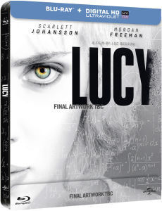 Lucy - Zavvi Exclusive Limited Edition Steelbook (Inclusief Ultraviolet Copy)