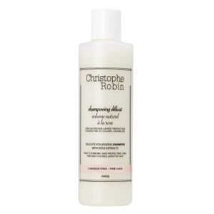 CHRISTOPHE ROBIN DELICATE VOLUMISING SHAMPOO WITH ROSE EXTRACTS (250ML)