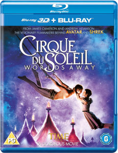 Cirque Du Soleil: Worlds Away 3D (Includes 2D Version)