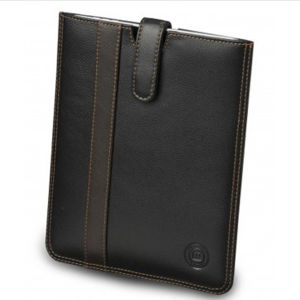 dbramante1928 Leather iPad Slip Cover (iPad 2, 3, 4, Air, and Air 2) - Black Stripe