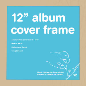 "Oak Frame Album - 12"""" x 12"""