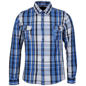 Benzini Men's Item Shirt Blue