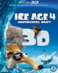 Ice Age 4: Continental Drift 3D (Includes 2D Blu-Ray, DVD and Digital Copy)