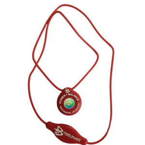 Power Balance -The Original Performance Pendant   Red With White Lettering