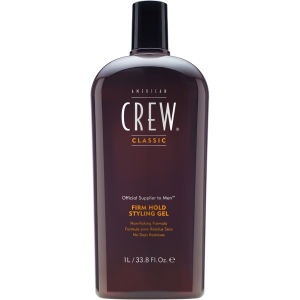 American Crew Firm Hold Gel (1000 ml) - (verdt £ 42,00)