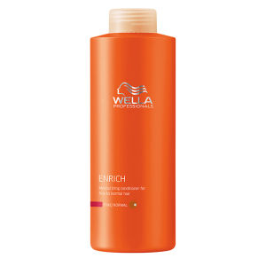 Wella Professionals Enrich Fine Conditioner 1000ml (Worth £58.50)