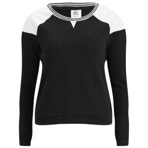 Vero Moda Women's Lea Raglan Sweatshirt - Black