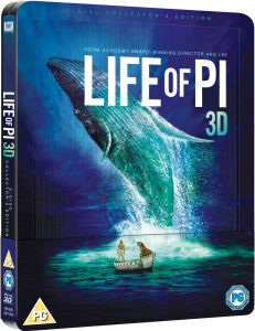 Life of Pi 3D - Limited Edition Steelbook (Includes 2D Blu-Ray and Digital and UltraViolet Copies)