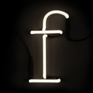 Seletti Neon Wall Light - Letter F