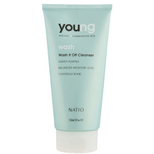Natio Young Wash It Off Cleanser (5 oz)