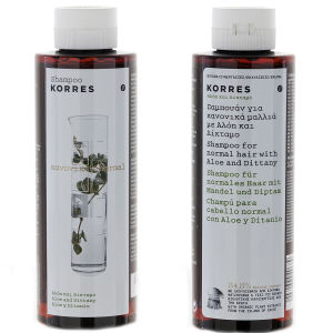 KORRES Shampoo Aloe and Dittany For Normal Hair (250 ml)