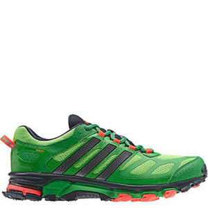 Adidas Men's Response Trail 20 Running Shoe - Ray Green/Night Met/Real Green