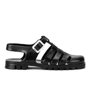 JuJu Women's Maxi Jelly Sandals - Black