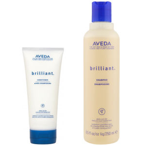 Aveda Brilliant Duo- Shampoo & Conditioner -shampoo ja hoitoaine