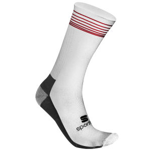 Sportful Thermo Polypro Cycling Socks - White/Black