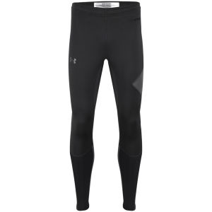 Under Armour Men's Stealth Storm Tights - Black/Hyper Green/Reflective