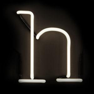 Seletti Neon Wall Light - Letter H