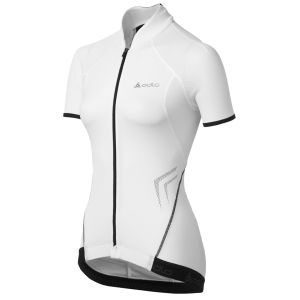 Odlo Women's Power SS FZ Cycling Jersey
