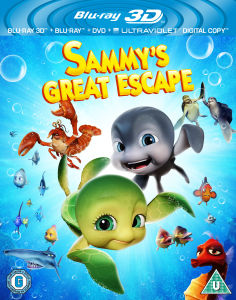Sammys Great Escape 3D (Bevat UltraViolet Copy)