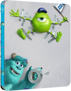 Monsters University - Steelbook Exclusivo de Edición Limitada en Zavvi (Colección Pixar nº2)