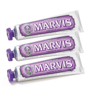 Marvis Jasmine Mint Toothpaste Bundle (3 x 85 ml)