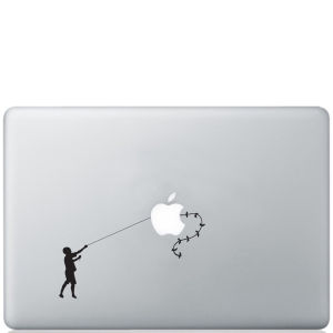 Banksy Kiterunner Macbook Decal