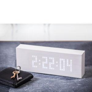Nachrichten Click Clock - Weiß