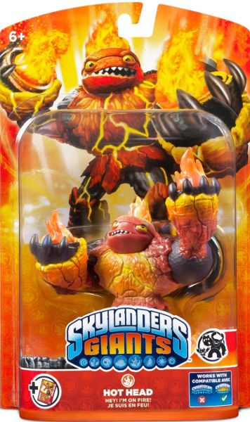 Skylanders Giants Giant Character Hot Head Games Zavvi