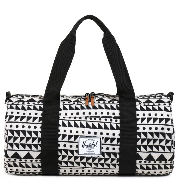 Herschel Supply Co. Sutton Mid-Volume Duffle - Chevron Black
